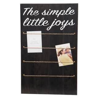 Simple Joys Black Collage with Rope and Clips Picture Frame|https://ak1.ostkcdn.com/images/products/18126678/P24279769.jpg?impolicy=medium