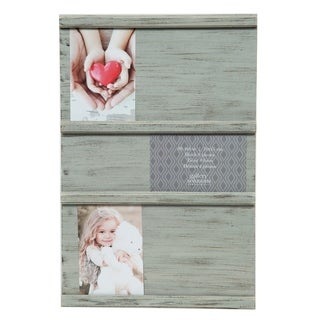 12x18 Sliding Collage Gray Picture Frame