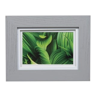 Gallery 5x7 Wide Grey Double Mat to 4x6 Picture Frame