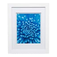 Gallery 11x14 Wide White Double Mat to 8x10 Picture Frame