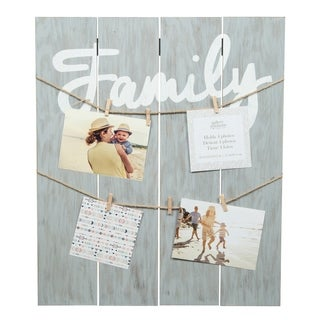 Family Graywah Clip Collage Picture Frame