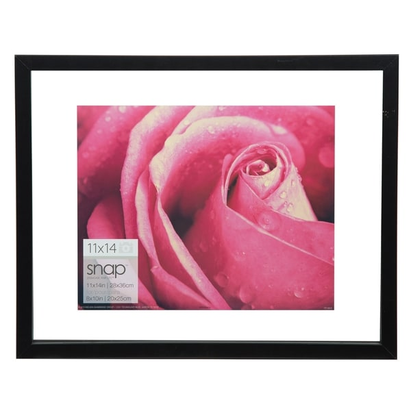 Shop 11x14 Float 8x10 Black Picture Frame Free Shipping On Orders