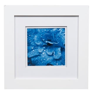 Gallery 8X8 Wide White Double Mat to 5x5 Picture Frame