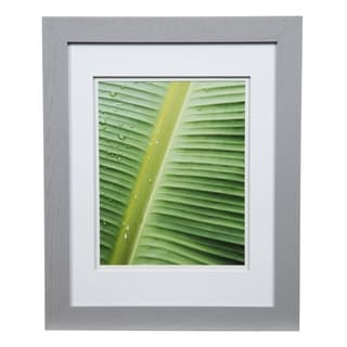 Gallery 11x14 Wide Grey Double Mat to 8x10 Picture Frame