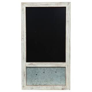 12X18 Whitewash Chalk & Magnetic Memoboard|https://ak1.ostkcdn.com/images/products/18126724/P24279759.jpg?impolicy=medium