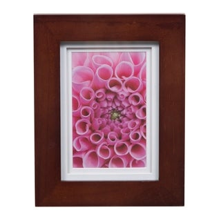 Link to Gallery 5x7 Wide Walnut Double Mat to 4x6 Picture Frame Similar Items in Decorative Accessories