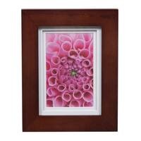Gallery 5x7 Wide Walnut Double Mat to 4x6 Picture Frame