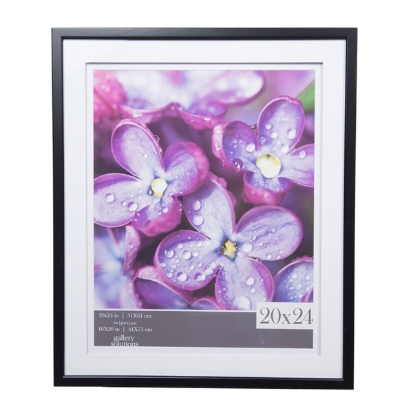 Shop Gallery 20x24 Double Mat To 16x20 Picture Frame Free Shipping