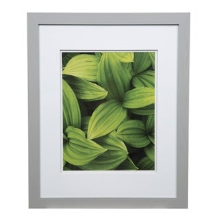 Gallery 16x20 Wide Grey Double Mat to 11x14 Picture Frame