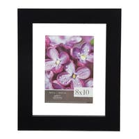 8x10 Float to 5x7 Wide Black Picture Frame