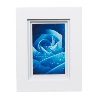 Gallery 5x7 Wide White Double Mat to 4x6 Picture Frame