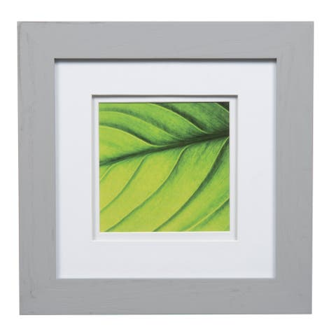 Gallery 8x8 Wide Grey Double Mat to 5x5 Picture Frame