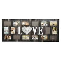 """16 Opening """"Love"""" Collage Picture Frame"""