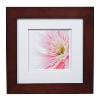 Gallery 8X8Wide Walnut Double Mat to 5x5 Picture Frame