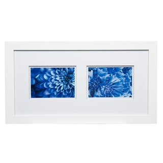 Gallery 10x20 Wide White Double Mat to 2-5x7 Picture Frame