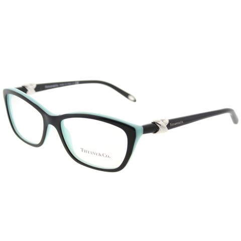 Tiffany & Co. Cat Eye TF 2074 8055 Womens Havana on Transparent Frame Eyeglasses