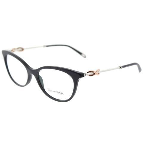 Tiffany & Co. Cat Eye TF 2142B 8211 Womens Pearl Gunmetal Frame Eyeglasses
