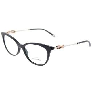 Tiffany & Co. Cat Eye TF 2142B 8211 Womens Pearl Gunmetal Frame Eyeglasses