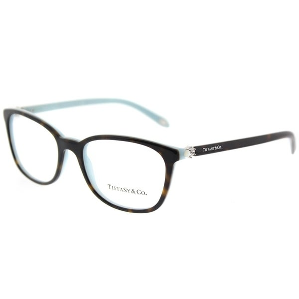 9792739c24 Tiffany  amp  Co. Square TF 2109H 8134 Womens Havana on Blue Frame  Eyeglasses
