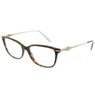 Tiffany & Co. Square TF 2133B 8015 Womens Dark Havana Frame Eyeglasses