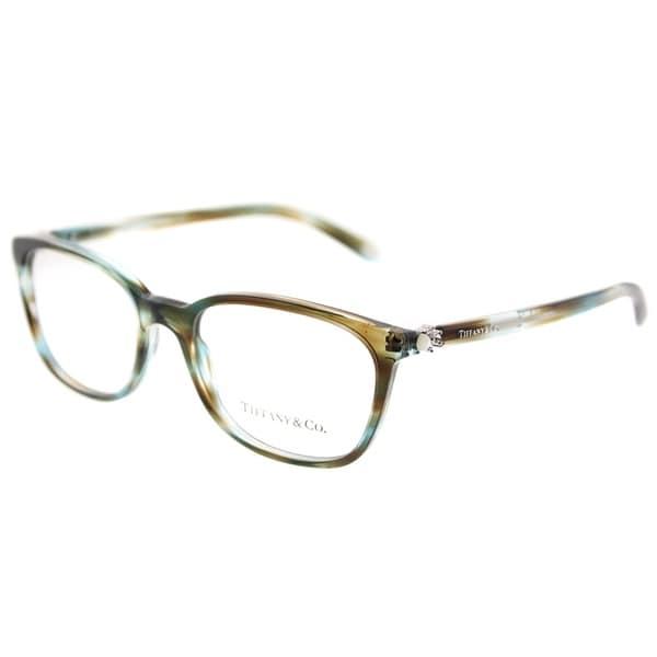 0f85395bc26 Tiffany  amp  Co. Square TF 2109H 8124 Womens Ocean Tortoise Frame  Eyeglasses