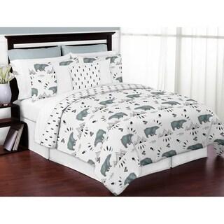 Sweet Jojo Designs Bear Mountain Collection 3-piece Full/Queen Comforter Set