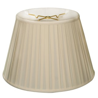 Royal Designs Empire English Pleat Basic Lamp Shade - Eggshell - 10 x 14.5 x 10