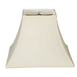 Royal Designs Square Bell Basic Lamp Shade - White - 7 x 14 x 11.5