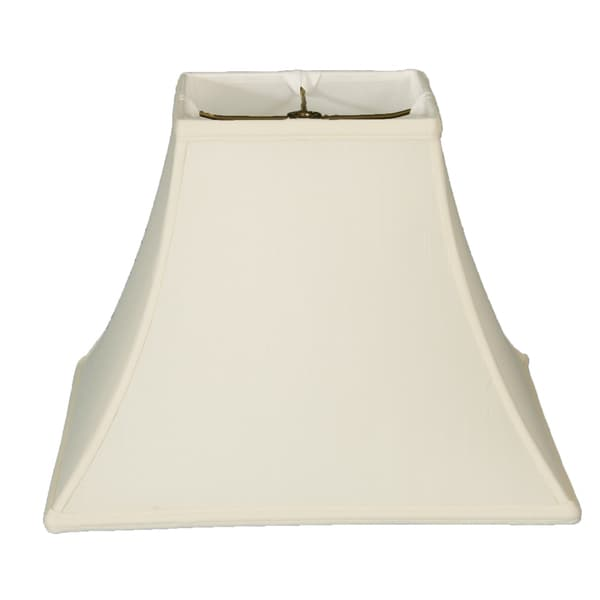 Royal Designs Square Bell Basic Lamp Shade - White - 6 x 12 x 10.5