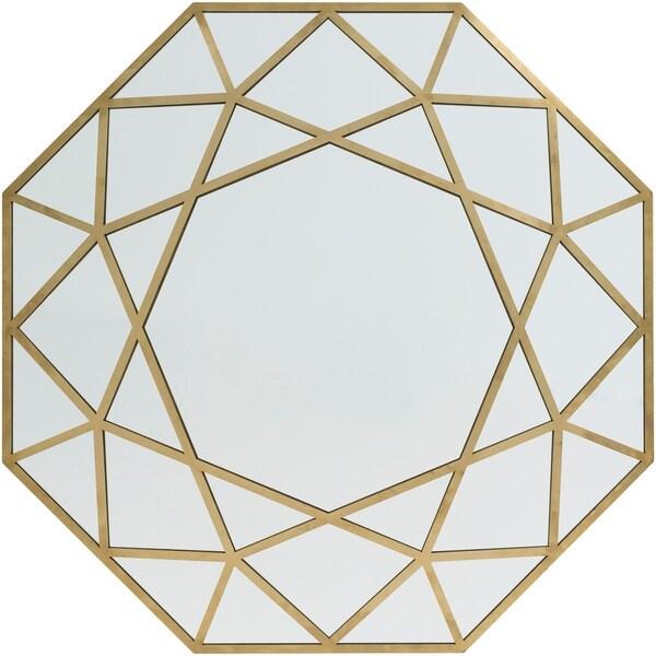 Hypatia Gold Framed 31.5-inch Wall Mirror
