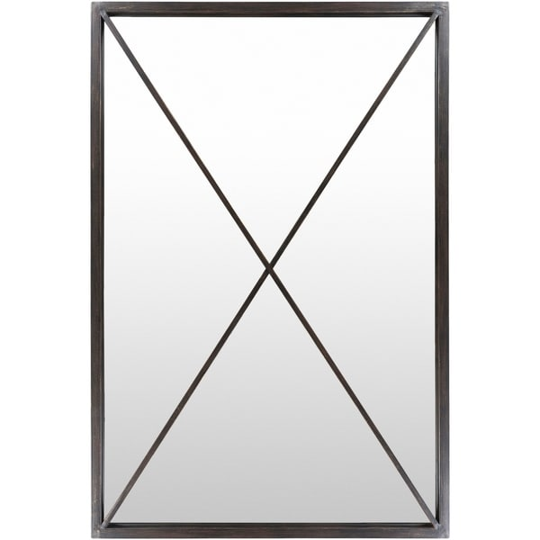 Shop Stafford Black Framed 40 Quot X 60 Quot Floor Mirror 40 Quot X