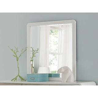 Hillsdale East End Mirror, Taupe/White