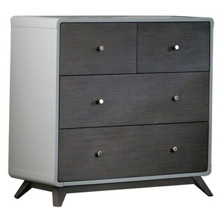 Hillsdale East End 4 Drawer Chest, Gray