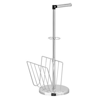 Furinno Wayar Toilet Paper Holder with Book Stand, WS17200