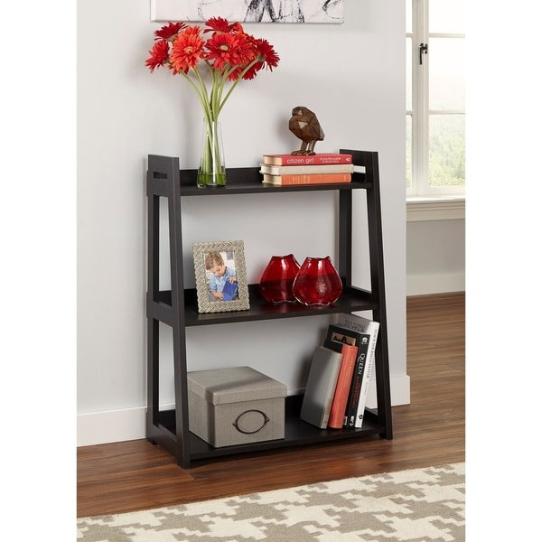 ClosetMaid No Tool Assembly Wide 3 Tier Ladder Shelf