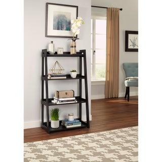 ClosetMaid No-Tool Assembly Wide 4-Tier Ladder Shelf