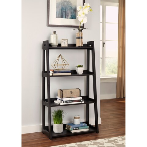 ClosetMaid No-Tool Assembly Wide 4-Tier Ladder Shelf
