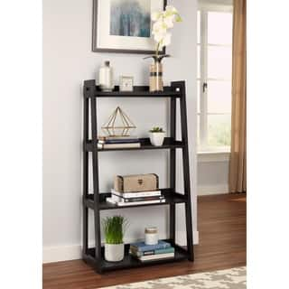ClosetMaid No Tool Assembly Wide 4 Tier Ladder Shelf