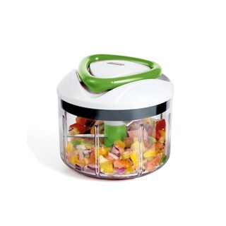 EasyPull Food Processor Green/Clear