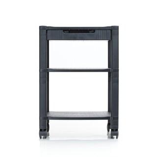 Mind Reader 'Classify' 3 Shelf Mobile Printer Cart, Black