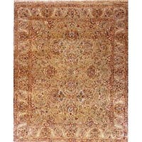 "Pasargad Tabriz Collection Hand-Knotted Wool Area Rug ( 8' 2"" X 9'11"")"