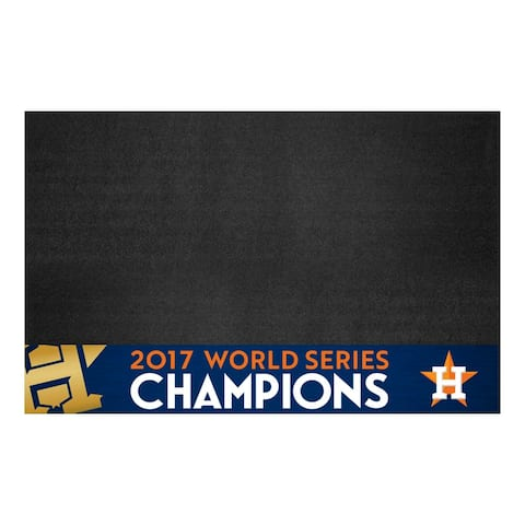 "Houston Astros 2017 World Series Champions Grill Mat 26""x42"""