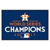 "Houston Astros 2017 World Series Champions Starter Rug 19""x30"""