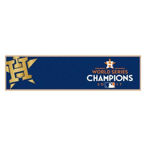 Houston Astros 2017 World Series Champions Putting Mat