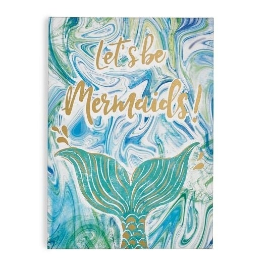 Graham & Brown Lets Be Mermaids Canvas Print