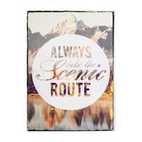 Graham & Brown Scenic Route Printed Canvas