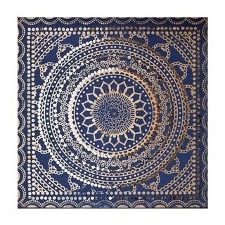 Graham & Brown Embellished Ink Fabric Canvas