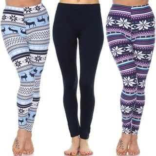 Pack of 3 Leggings (Option: Multi)|https://ak1.ostkcdn.com/images/products/18128122/P24280813.jpg?impolicy=medium