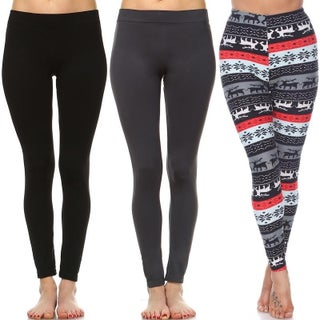 Pack of 3 Leggings (More options available)