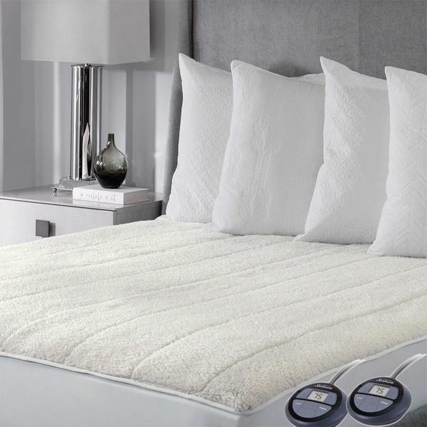 sunbeam pad mattress therapeutic heated comfort